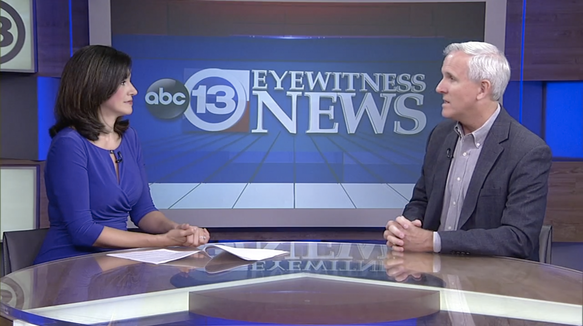 Franchisee Gary Blizzard shares his expertise about aging parents and their ability to drive on Houston's KTRK-TV