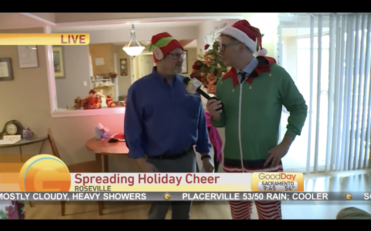 Franchisee Mark Wolff spreading holiday cheer and helping seniors feel special