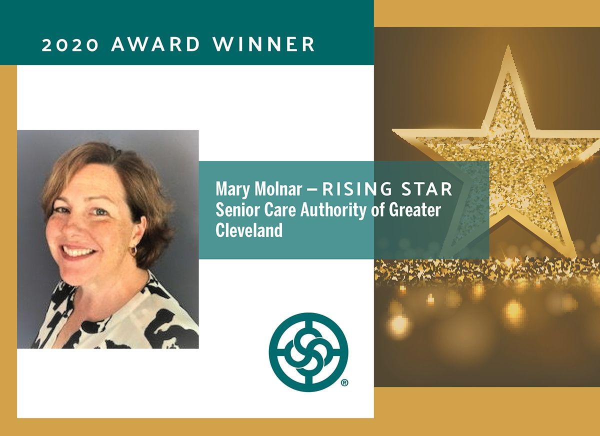 Mary Molnar Receives the Rising Star Award From NAWBO Cleveland