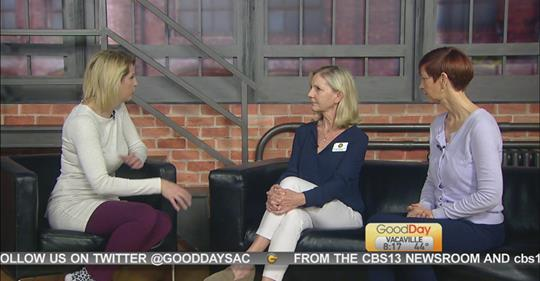 Maureen Simmons at Good Day Sacramento
