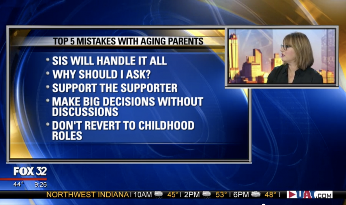 Top 5 Mistakes Siblings Make when Helping Aging Parents by Lyn Zawacki